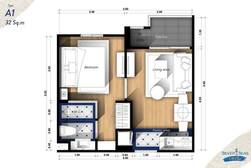 1-bedroom-units-big-A1-32sqm