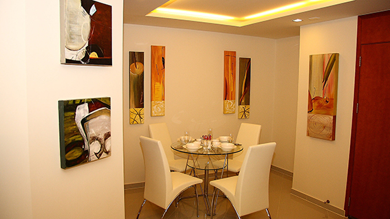 City Garden Pattaya_1BR - 58.16sqm - Dining Room