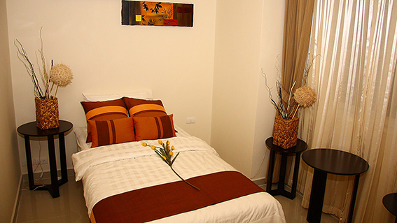 City Garden Pattaya_2BR - 70.16sqm - Bedroom