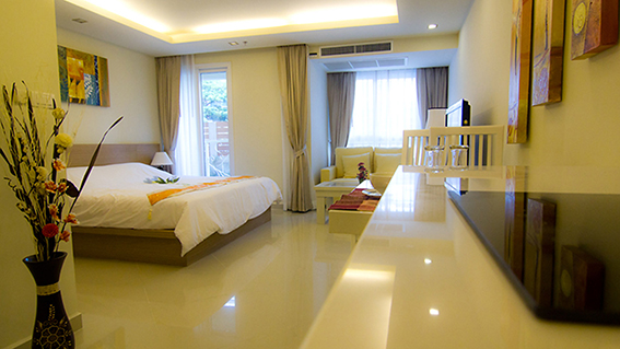 City Garden Pattaya_Studio 35 Sqm