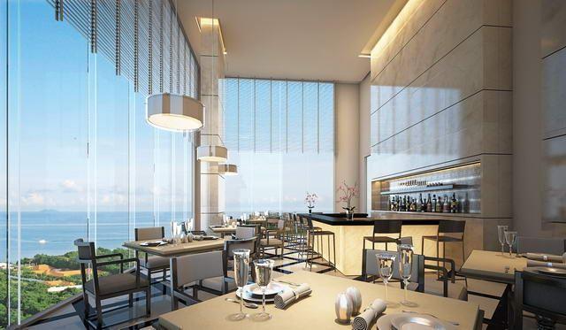 condominium-sale-Pratumnak-Vision-restaurant-bar-concept