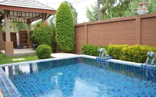 Baan Dusite View with full furnished (Pool)