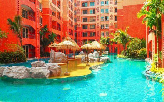 KaSsUP6j8Qc 525x328 - Seven Seas Condo Resort Jomtien 1bedroom корпус D 7 этаж