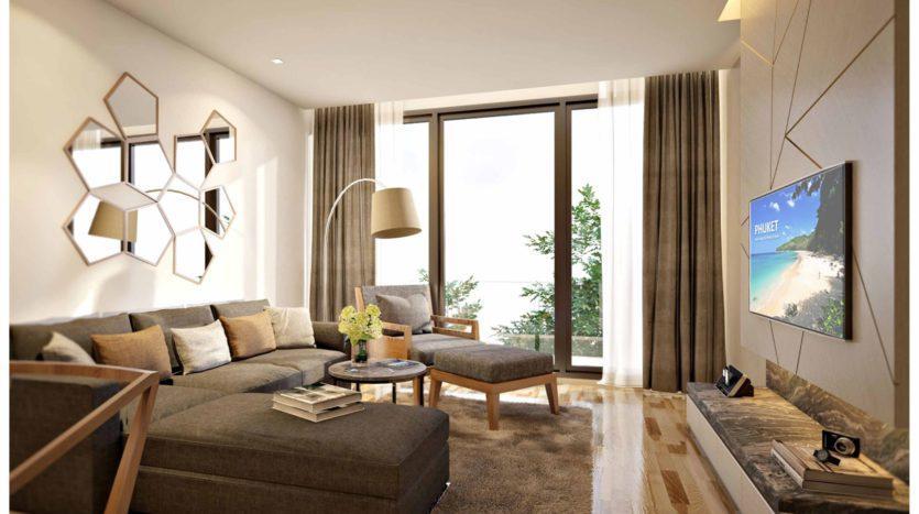 Квартира с красивым видом в Пхукете