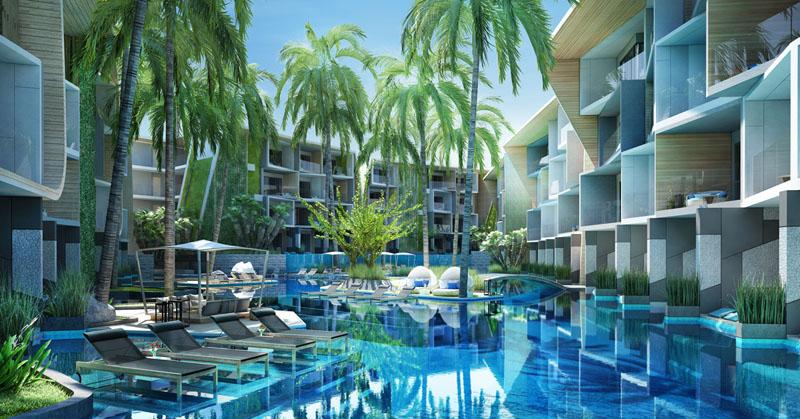 бассейн в Coco Sea Nai Harn