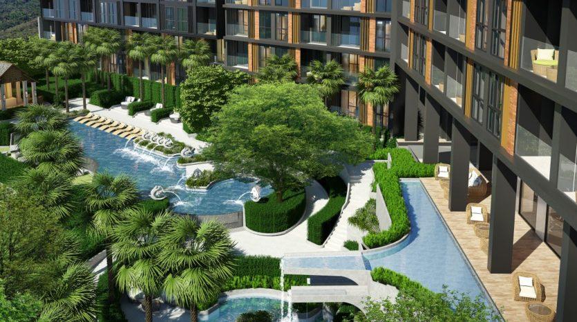 Бассейн в Panora Phuket Condo