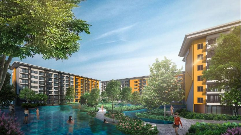 Бассейн в New Nordic Bang Tao Water World