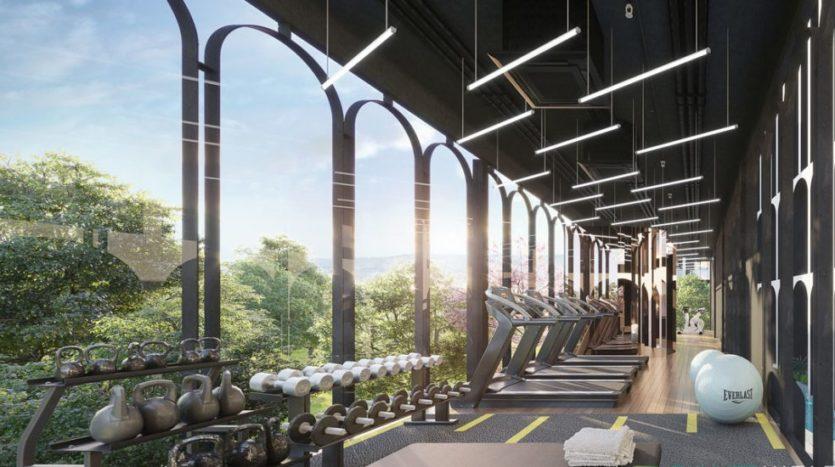 спортзал в MONO Residence Bangtao