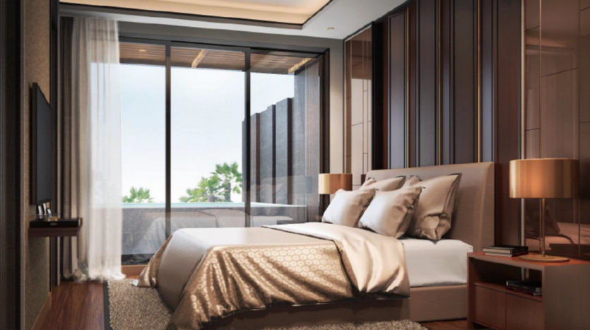 Спальня в Panora Phuket Condo