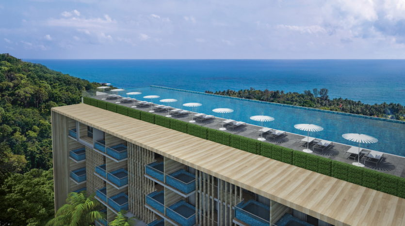 Rooftop Paradise Beach Residence