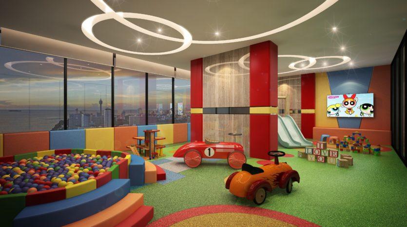 детская комната в Dusit Grand Tower
