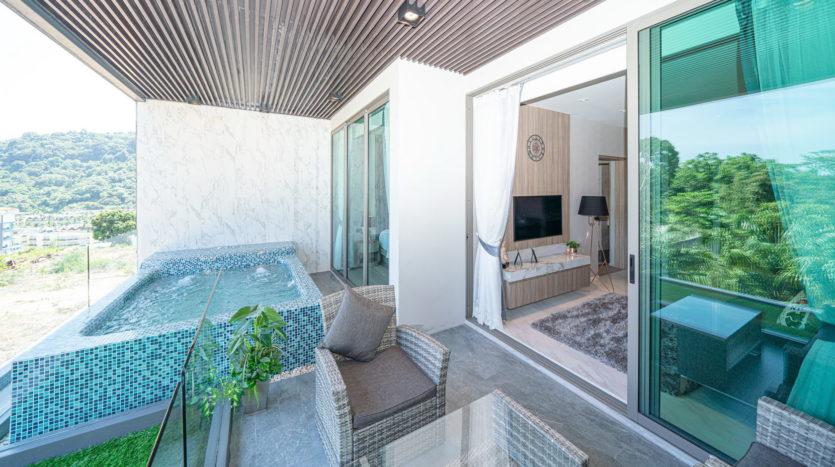Апартаменты Paradise Beach Residence Phuket