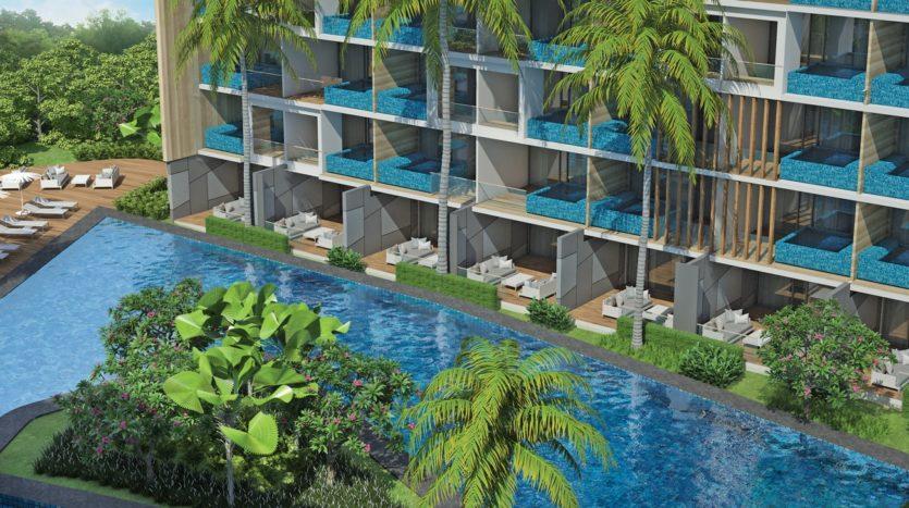территория Paradise Beach Residence Phuket